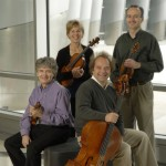 The Takacs Quartet in 2012, photographed by Peter Smith